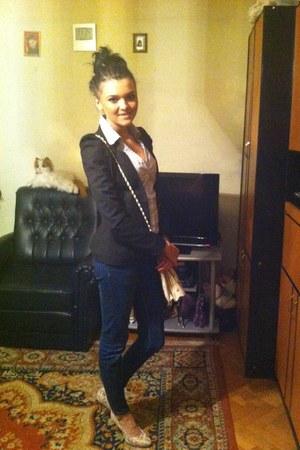 Zara jeans - Deichmann heels
