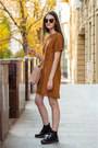 Crimson-brogues-pull-bear-boots-burnt-orange-suede-sheinside-dress