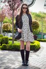 Black-pull-bear-boots-white-sheinside-dress-black-sheinside-jacket