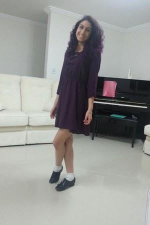 lace up freelance shoes - 3 bow dress Dotti dress