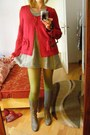 Silver-sandokan-dress-lime-green-susi-tights-red-cardigan-silver-leather-h