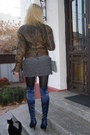 Heather-gray-h-m-sweater-light-brown-leather-blazer