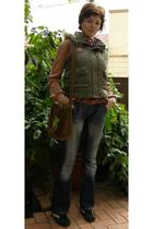 timeout vest - michael richards brazil blouse - timeout belt - unda purse - jus
