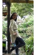 Maxstudio blouse - Cheap Monday jeans - Forever21 shoes - Rachel Comey belt