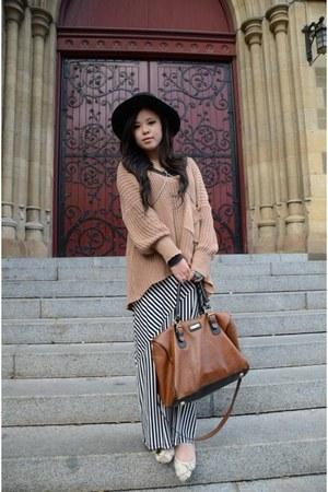 jumper - Sportsgirl hat - H&M bag - H&M skirt - Sportsgirl accessories
