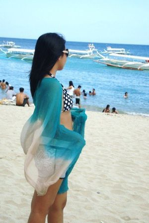 H&amp;M scarf - Chanel glasses - Coco Cobana swimwear