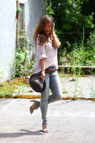 Zara shirt - Forever 21 shoes - H&M jeans