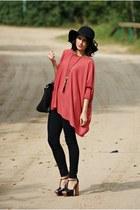 h&n sweater - Vero Moda leggings - etorebkapl bag