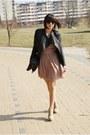 Tan-sylowebutkipl-shoes-tan-inlovewithfasioncom-dress-black-romwecom-jacket-