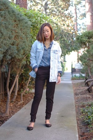 Dolce Vita shoes - Zara jacket - madewell shirt - Theory pants