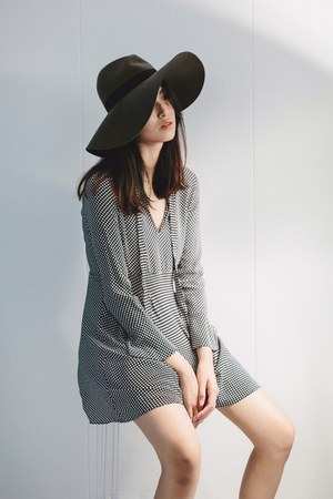 gray Mango dress