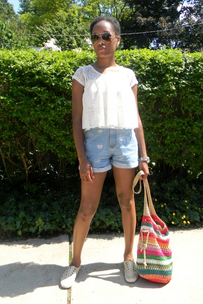 Charlotte Russe top - Keds sneakers