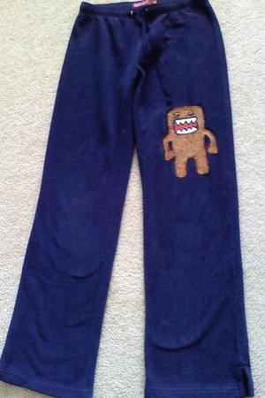 blue custom pants