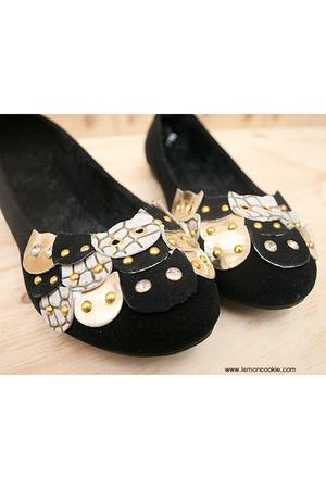 black wwwlemoncookiecom shoes - black