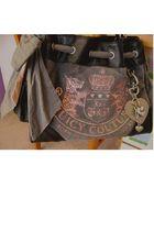 gray Juicy Couture bag - pink bag