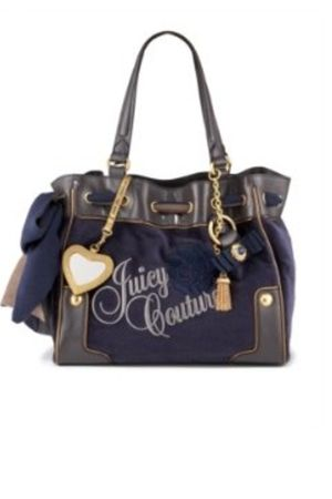purple Juicy Couture purse