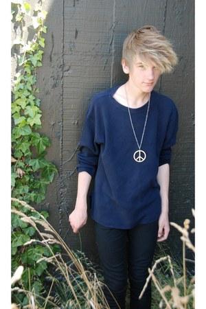 blue blue jumper - black black Jay Jays jeans