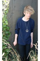 blue blue jumper - black black Jay Jays jeans