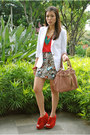 Red-topshop-top-white-zara-blazer-ivory-h-m-skirt-ruby-red-juan-wedges