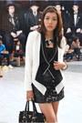 Black-prada-bag-white-forever-21-blazer-black-forever-21-vest