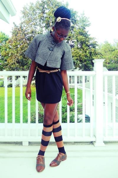 oxford Forever 21 shoes - black little black Forever 21 dress