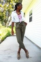 28a6fff5bc Heather Gray Denim Bandage Macys Skirts, White Hello Kitty Shirts ...