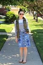 skirt - shirt - vest