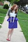 Skirt-jacket-blouse