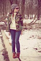 sweater - jeans - jacket