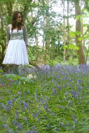 Ebay skirt - forever 21 top - Topshop belt - asos tights