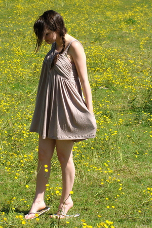 Kate Moss for Topshop dress - thrift shoes - Topshop shoes