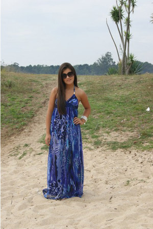 blue Primark dress