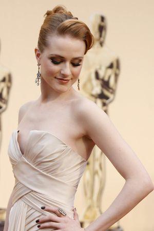 white dress - gold earrings