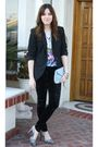 Zara-blazer-f21-pants-lush-blouse-steven-steve-madden-shoes-vintage-purs