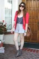 f21 blazer - Deena & Ozzy UO shoes