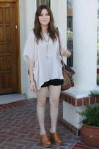 Lush blouse - Jeffrey Campbell shoes - Steven by Steve Madden purse
