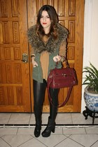 Urban Outfitters vest - desirred boot Steve Madden boots boots