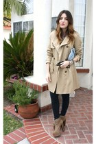 Jeffrey Campbell boots - H&M coat