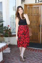 vintage skirt - Jeffrey Campell shoes
