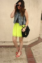 Urban Outfitters skirt - Sole Society sandals