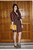 vintage dress - Jessica Simpson heels