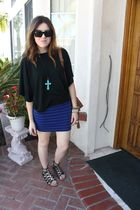 f21 skirt - Target top - DV by dolce vita shoes - f21 necklace