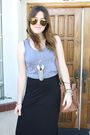 American-apparel-top-h-m-skirt-jeffrey-campbell-shoes