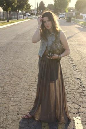 TJ Maxx skirt - Nordstrom vest