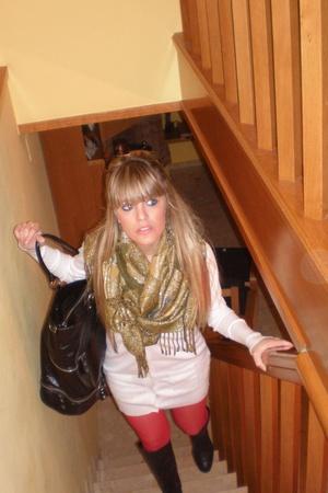 H&M pants - Zara Basic blouse - Zara - BSK BASIC purse - Zara shoes