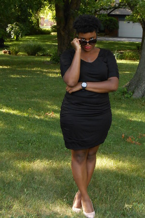 Rampage heels - The Limited dress - Dollhouse sunglasses - Xhileration watch