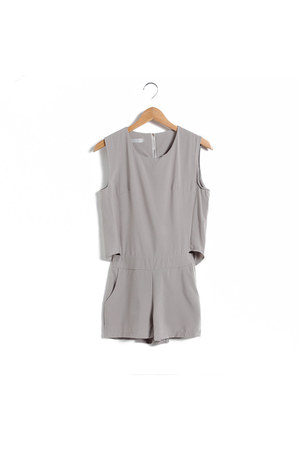 jumpsuit dress - cut out ARIUS romper