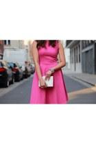 Meg dress - new look bag - Payless heels
