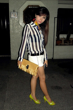 The Ramp top - Aldo bag - Mango shorts - Penshoppe intimate
