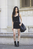 black Galian bag - cage back Motel Rocks dress